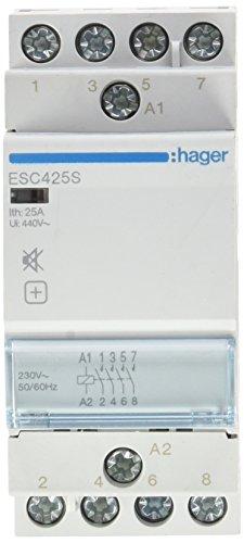 hager-contacteur Endschalldämpfer ESC425S 25A 4NA 230V -