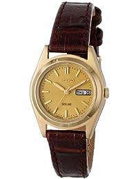 Seiko SUT120 analógico Pantalla marrón Reloj de Cuarzo japonés de la Mujer ef0744be2838