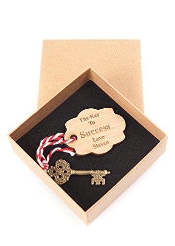 �ssel zum Erfolg, Holz Gravur Vintage Charme ideal für die Graduierung Prüfung Ergebnisse Geschenk ()
