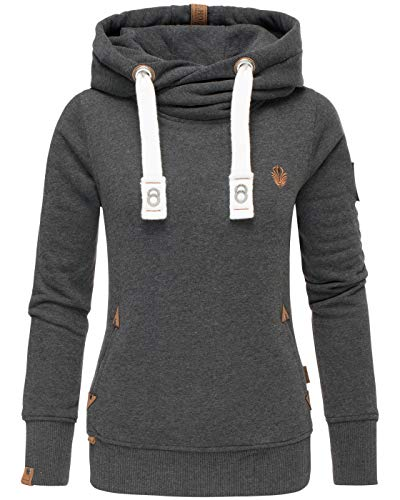 Navahoo Damen Sweatshirt Hoodie Pullover Pulli Sweater Kapuze warm B563