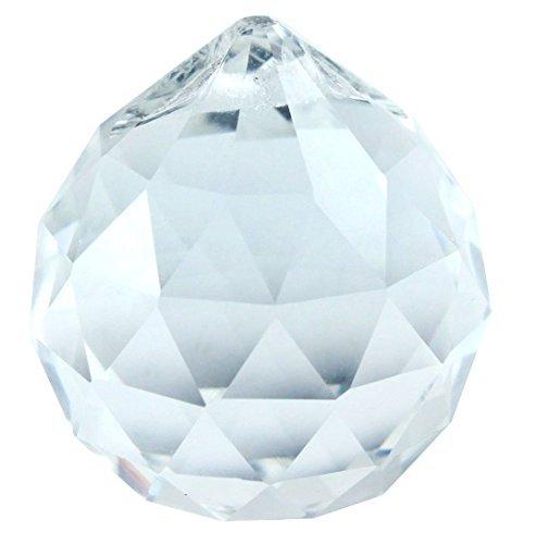 AsfourKristall klar Aufhängen facettierte