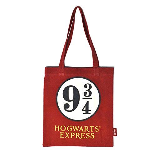 Half Moon Bay Z884355 Harry Potter Sac de Jute 9 3/4 Hogwarts Express Beige - Version Allemande