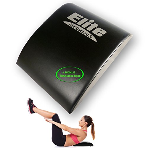 Elite Sportz Ab Crunch Sit Up Matte - Bauchtrainer - Abdominal Core Trainer - Bonus Resistance Band enthalten.