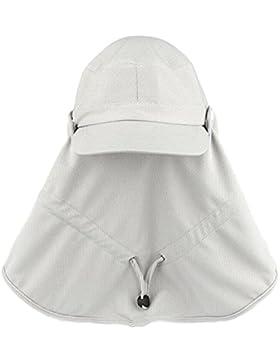 Outdoor Cappello Da Sole Cappello Visiera Di Protezione UV Cappello Di Paglia Cappello Da Pesca Cima Piatta Del...