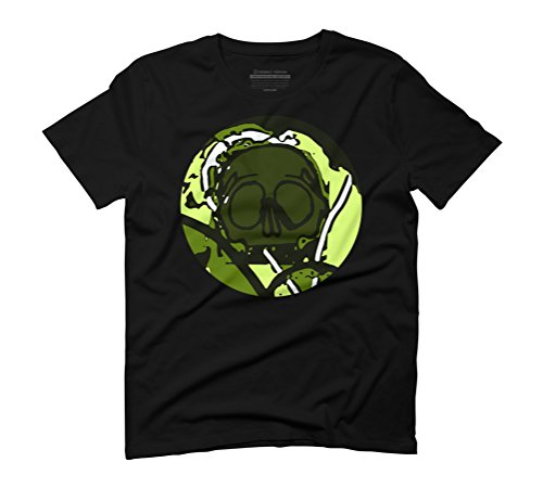 Skull Men's Graphic T-Shirt - Design By Humans Black