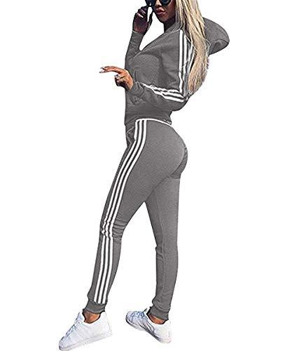 Udaderas Mujer Pantalones + Tops Conjunto Chándal