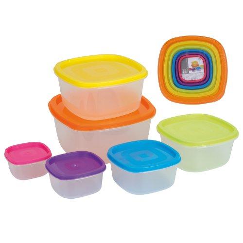 Ausgezeichnet Haushaltsartikel 6 Stück Aufbewahrungsboxen Re verschließbaren Nahrungsmittelbehälter