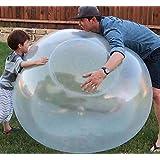 Vercico Bubble Ball XXL, Übergroße Aufblasbarer Bubble Ball bälle Wassergefüllte Interaktiver Aufblasbarer Transparente Weich