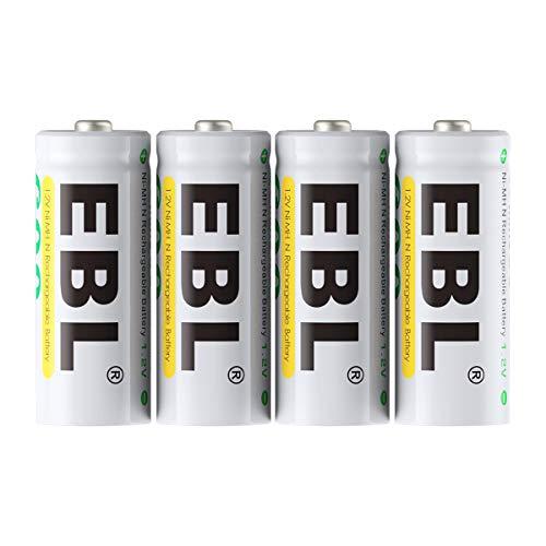 EBL 4Pack n Größe MN9100LR1600mAh NI-MH Akkus