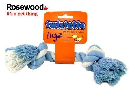 Rosewood Twistables Hund Toy Tug Knochen, -