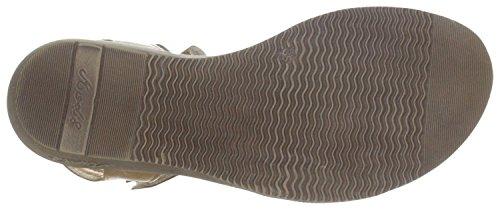 MOD8 hORNITO sandales vel beach en cuir naturel marron Marron - naturel marron
