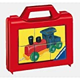 Ravensburger - Meine Spielsachen, 6 Teile Wrfelpuzzle