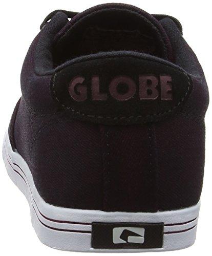 Globe Lighthouse-Slim Unisex-Erwachsene Sneakers Violett (dark burgundy/white)