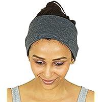 nimnik Coupe Sport Course à Pied idéale pour pour Yoga Pilates Gym, la transpiration l'humidité antidérapant; Bandeaux en coton pour femmes hommes unisexe Bandana cagoule masque cheveux