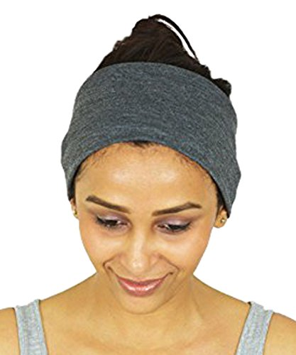 Sport Headbands für Frauen von nimnik, rutschfeste schweisstransport Baumwolle Bandana für Workout Running Crossfit Yoga Pilates
