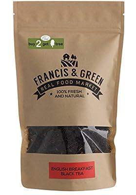 Francis & Green - Thé Noir de English Breakfast en vrac, 170g