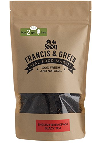 English Breakfast BIO Lose Blätter Schwarzer Tee – Francis & Green, 170g