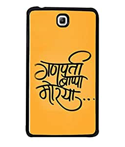 PrintVisa Designer Back Case Cover for Samsung Galaxy Tab 3 (7.0 Inches) P3200 T210 T211 T215 LTE (Ganpati In Hindi Design)