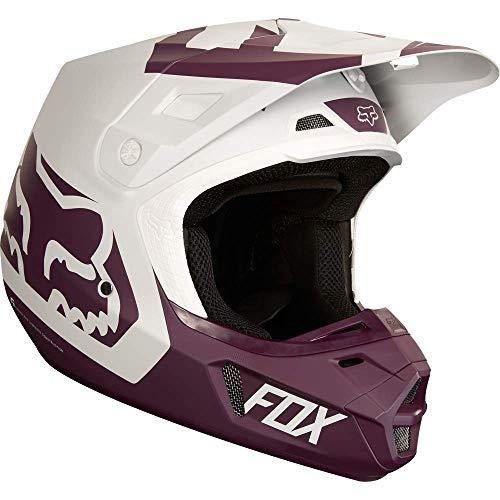 19528-053-L - Fox Racing V2 Preme Motocross Helmet L Purple