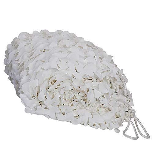 WeißEs Tarnnetz, Schneefeld-Layout, WeißEs Tarnnetz, Sonnenschutz FüR Gartenkinder Im Freien, Hoteldekoration, Szenenlayout (2 * 3 M) ()