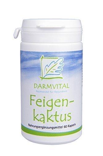 Darmvital Feigenkaktus (Opuntia), 60 Kapseln je 500 mg
