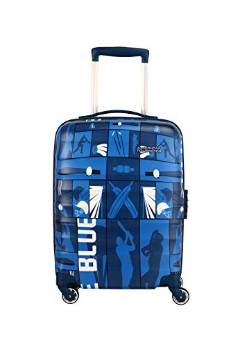 American Tourister Play4blue Polycarbonate 79 cms Blue Hardsided Check-in Luggage (FR4 (0) 01 003)