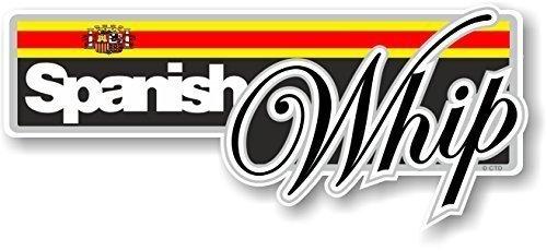 divertente-spagnolo-whip-slogan-con-bandiera-spagnola-novit-adesivo-paraurti-design-vinile-adesivo-d