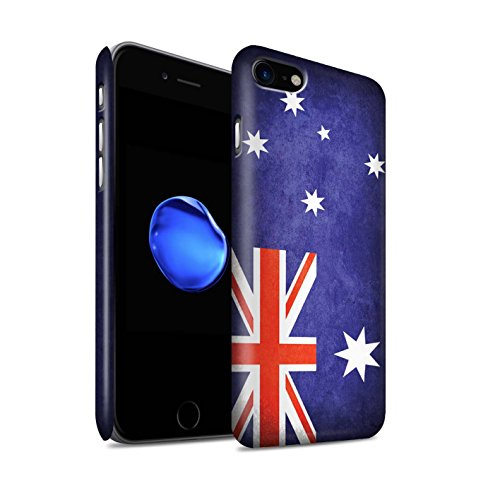 STUFF4 Matte Snap-On Hülle / Case für Apple iPhone X/10 / Australien/australisch Muster / Flagge Kollektion Australien/australisch