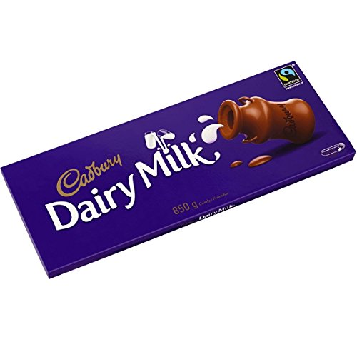 Cadbury Dairy Milk 850g Large Bar by Cadbury Gifts Direct