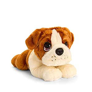Keel Toys SD2529 - Peluche de Peluche, Color marrón