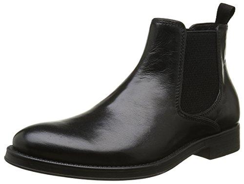 Geox Uomo Blaxe Herren Chelsea Boots Schwarz (Blackc9999)