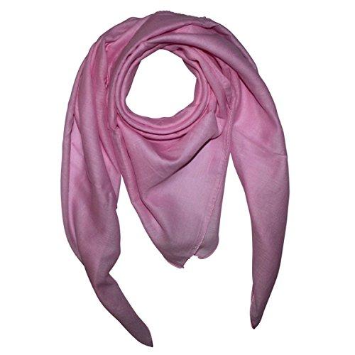bbd44dd6641a20 Superfreak Baumwolltuch - Tuch - Schal - 100x100 cm - 100% Baumwolle, Farbe  rosa