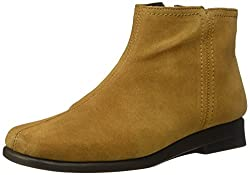 Aerosoles Womens Double Trouble 2 Ankle Bootie, Tan Suede, 6 M US