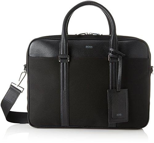 BOSS Business 50385675, Sacs pour ordinateur portable homme, Noir (Black), 27x28.5x38 cm (B x H T)