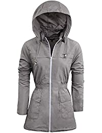 Amazon.co.uk: Grey - Coats & Jackets / Women: Clothing