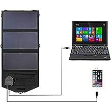 JAYE Cargador Solar para teléfono móvil, Cargador Solar portátil al Aire Libre, 18V 21W