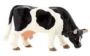 Bully 62442 - Figura de Vaca, Color Blanco y Negro
