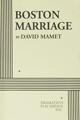 Boston Marriage por David Mamet