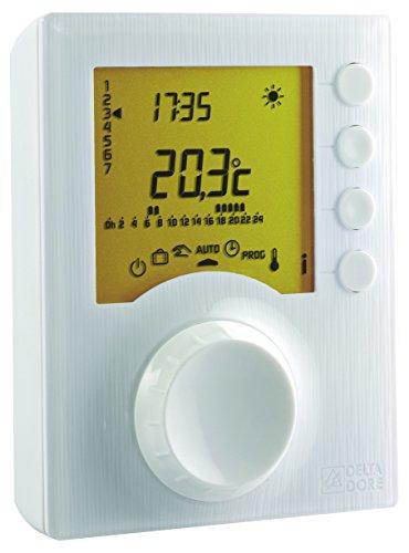 Delta Dore 6053006 Tybox 127 Thermostat programmable avec 2 niveaux de consigne