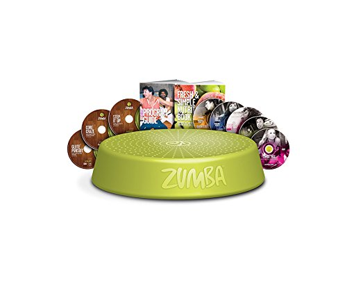 Zumba Fitness Incredible Results Deluxe DVD System