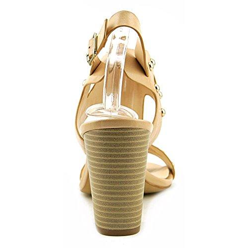 INC International Concepts Kieraa 2 Cuir Sandales Summer Nude