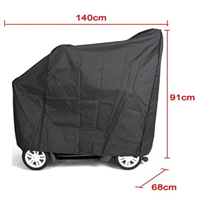 Mobility Scooter Cover, ProfessionalWaterproof Wheelchair Rain Protection Durable Eldly Mobility Rain Protection Easy to Protect Your Scooter