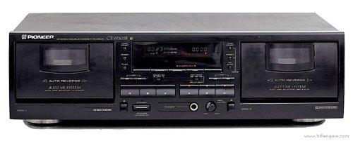 Pioneer CT-W 503R Kassettendeck