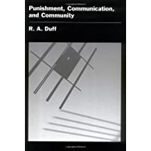 Punishment, Communication, and Community (Studies in Crime & Public Policy)