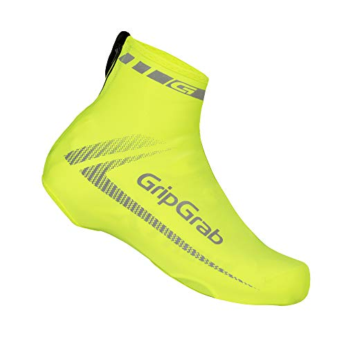 GripGrab Überschuhe RaceAero HI-VIS Gelb, OneSize (38-46) -