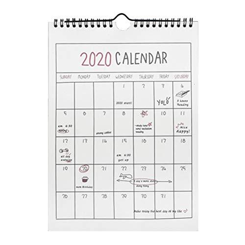 Calendario Annuale 2020.Calendari Da Parete Annuale Grandi Sconti Calendari