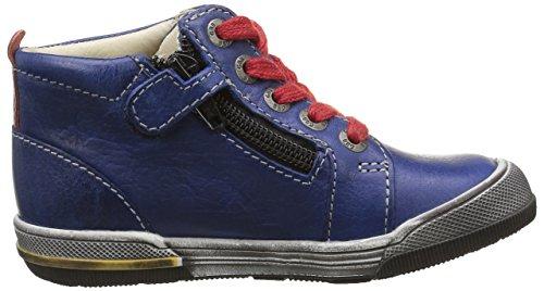 GBB Noah, Baskets Hautes Garçon Bleu (12 Vte Bleu/Rouge Dpf/Manbo)