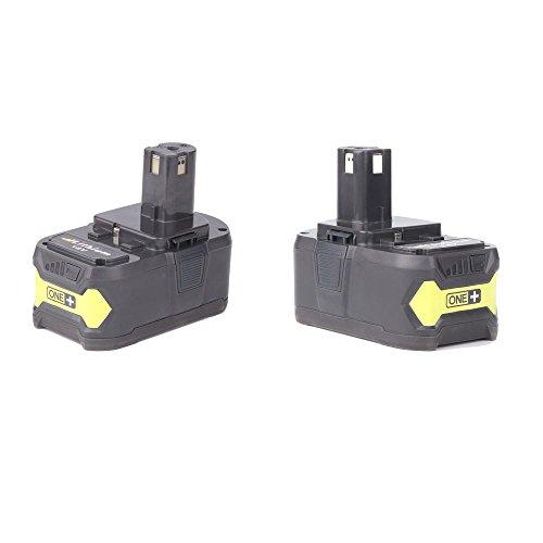 Masione 18V 4.0Ah Batterie P108 ONE+ Ersatzakku Für Ryobi 18V P104 P105 P102 P103 P107 P108 Ryobi 130429054 Ryobi 18 Volt Drill Battery