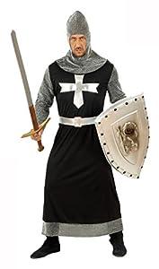 Widman - Disfraz de caballero medieval para hombre, talla XL (5733D)