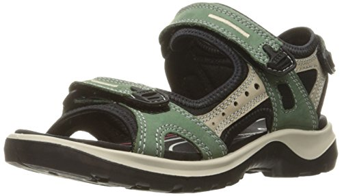 Ecco Damen Offroad Outdoor Fitnessschuhe, Grün (50311frosty Green/Moon Rock/Frosty Green), 38 EU